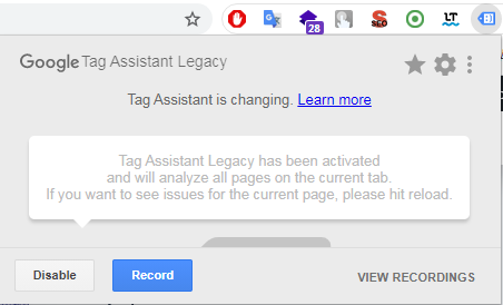 Зображення 4 до статті Освоюємо Google Tag Assistant