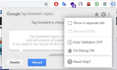 Зображення 7 до статті Освоюємо Google Tag Assistant