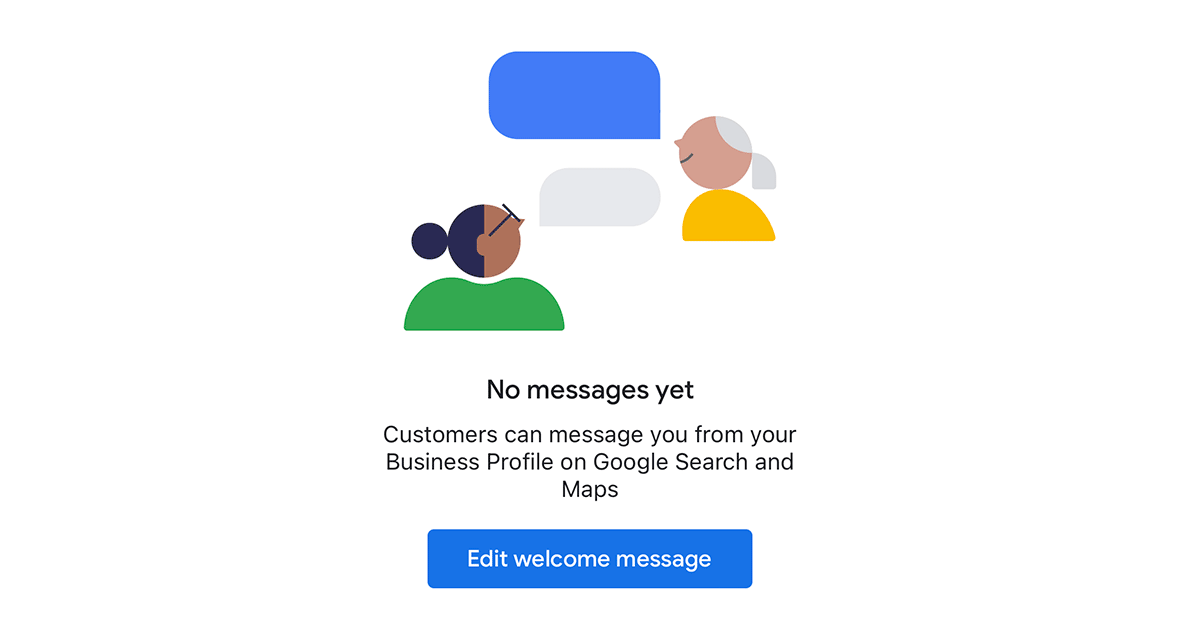 New messaging features in Google My Business